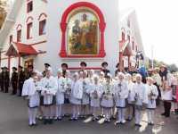 Церемонія урочистої посвяти в  ШЛЯХЕТНІ ПАНЯНОЧКИ (День Віри, Надії, Любові)