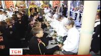 П'ятикласниць одного з київських ліцеїв сьогодні посвятили в шляхетні паняночки