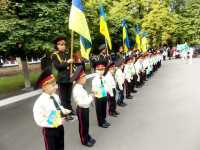 1 вересня 2016 - 2017 н.р. 1 - б клас ( Класовод Голюк Леся Павлівна).