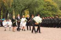 Київські кадети задзвонили у 75 дзвонів в пам'ять про загиблих у Бабиному Яру