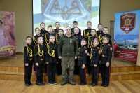 Гвардійці посольської бригади відвідали ліцей-інтернат №23 «Кадетський корпус» з посиленою військово-фізичною підготовкою
