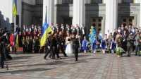 У Верховній Раді відбулася Урочиста церемонія вручення погонів учням кадетських класів «Кадети - майбутні захисники України»