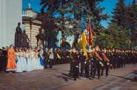 Кадетському корпусу - прапор, кадетам - погони!