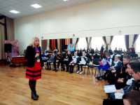 Тренінг для столичних кадетів і паняночок – авторів проекту EVORANK на тему «Навчання школярів публічній презентації проектів малого ГБ»