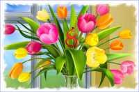 Зі святом Весни, Краси, Любові та Надії!