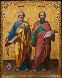Зі  святом  Петра і Павла!