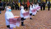 Погони, як крила. У київському ліцеї відбулася посвята в кадети